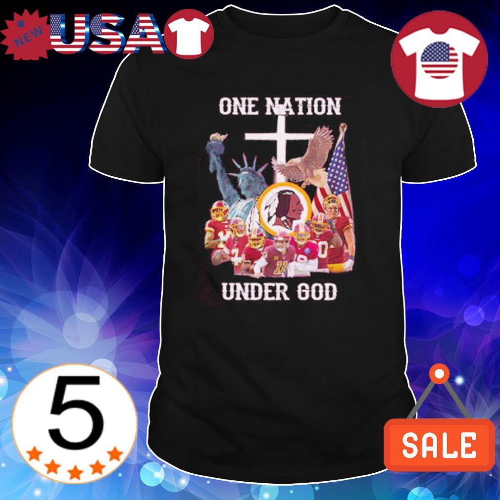 Washington Redskins one nation under God shirt