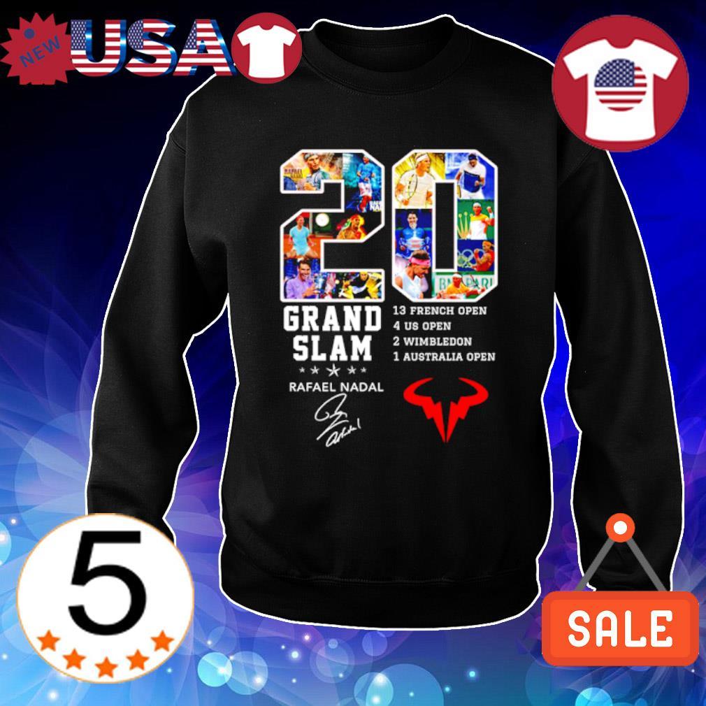 20 years Grand Slam Rafeal Nadal signature s Sweater Black
