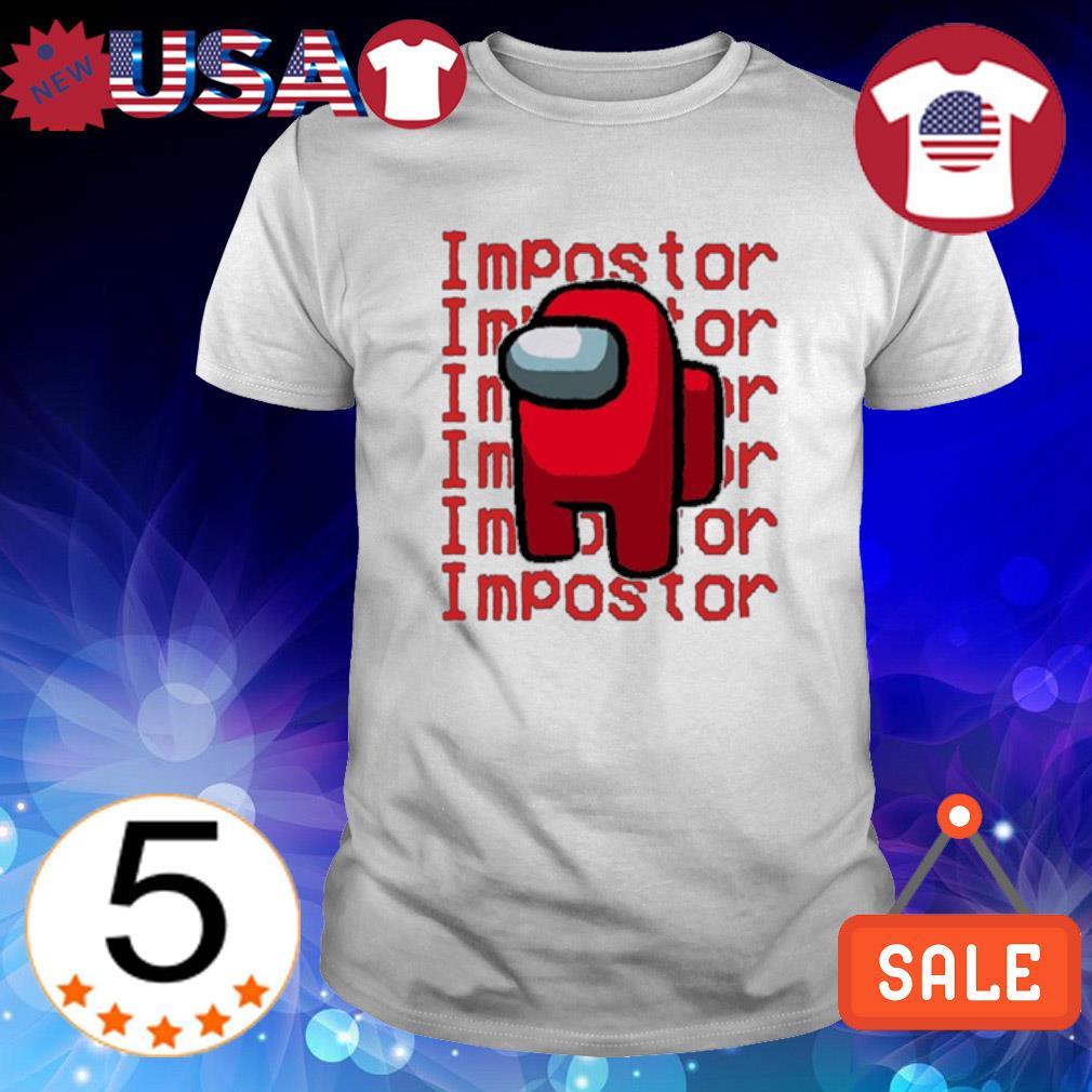Among US impostor impostor shirt