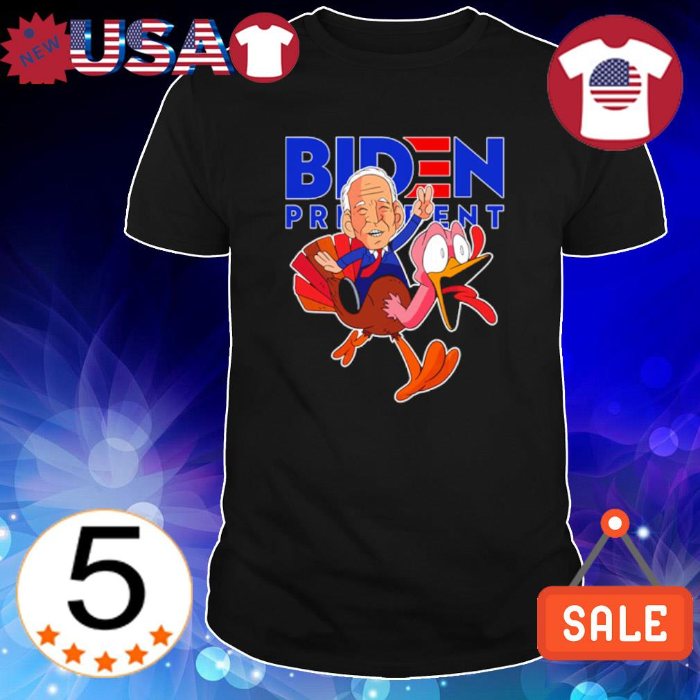Biden riding turkey Biden president shirt