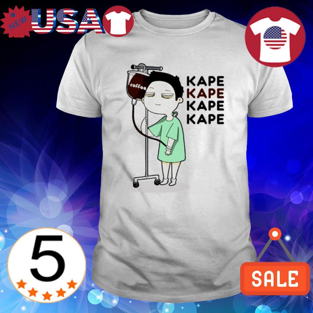 Coffee kape kape kape shirt