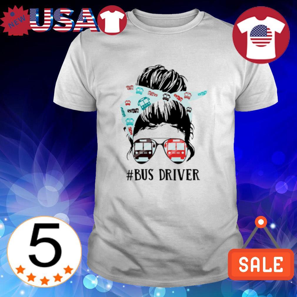 Cool girl bus driver shirt