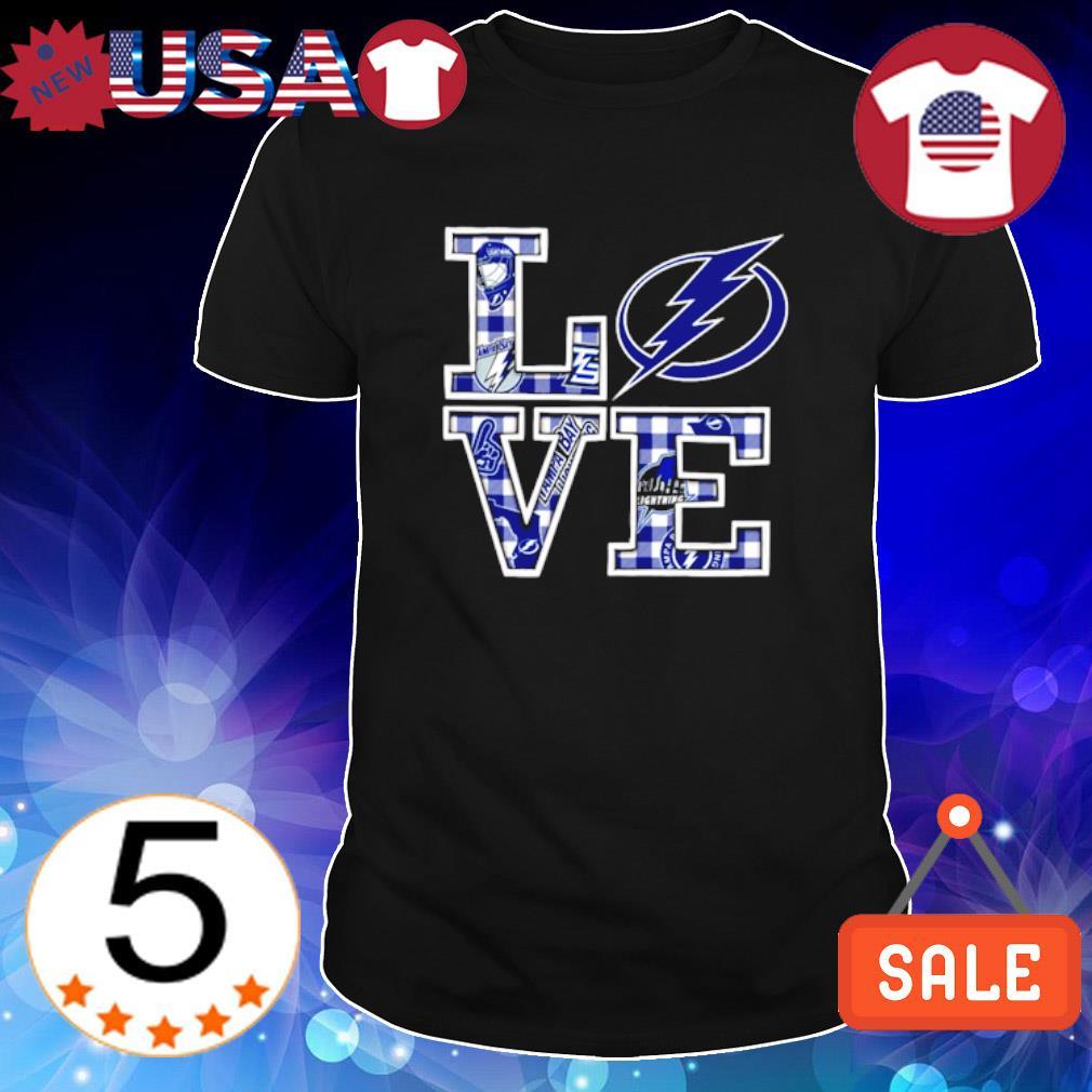 Love Tampa Bay Lightning shirt