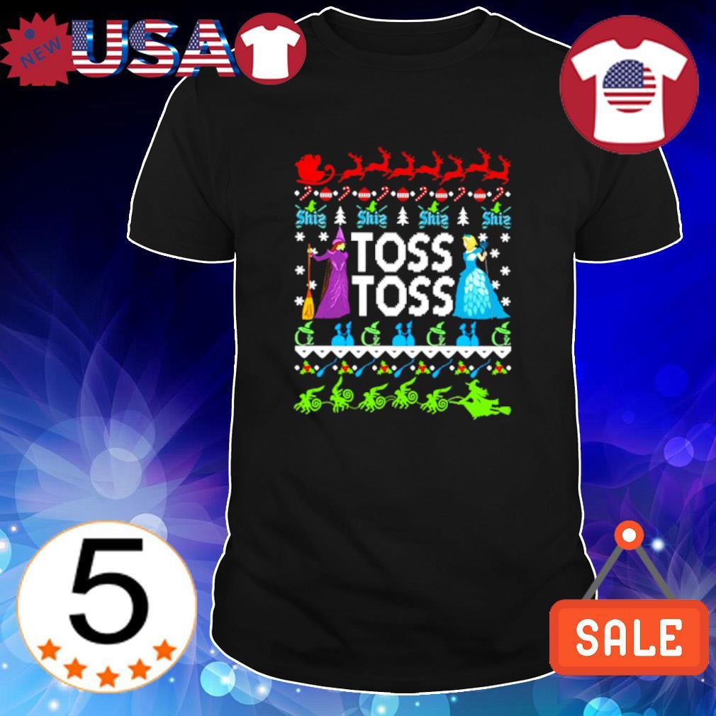 Princess Witch Toss Toss Christmas shirt