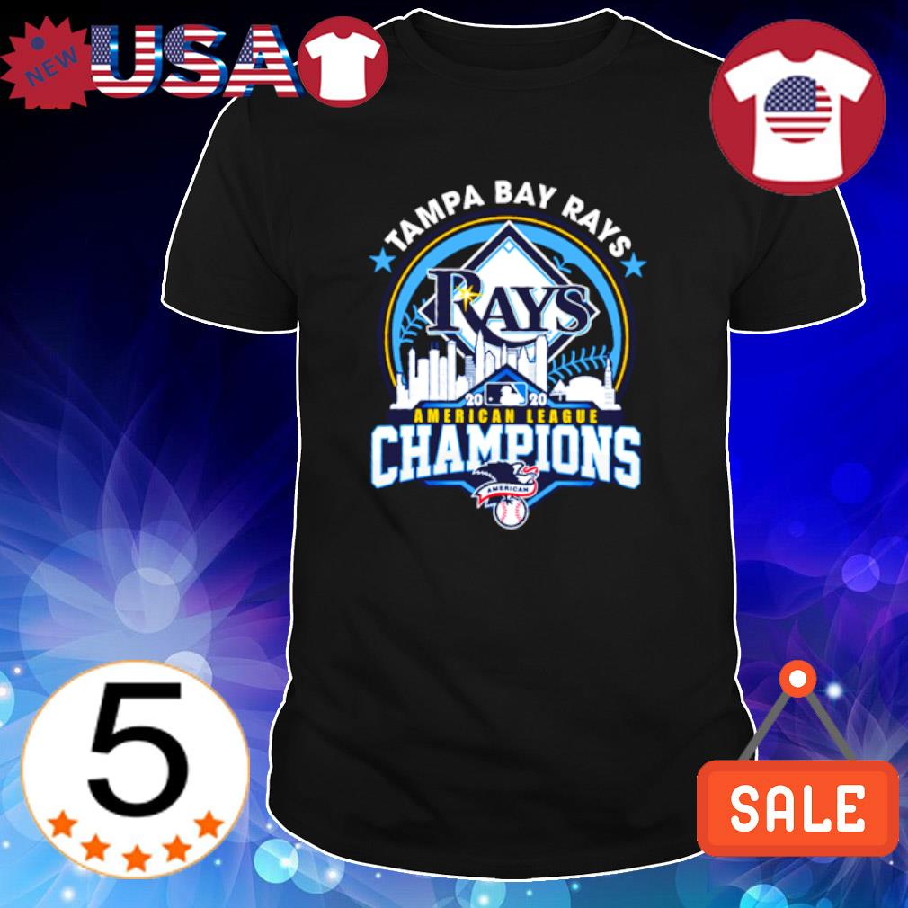 Tampa Bay Rays 2020 American league champions shirt
