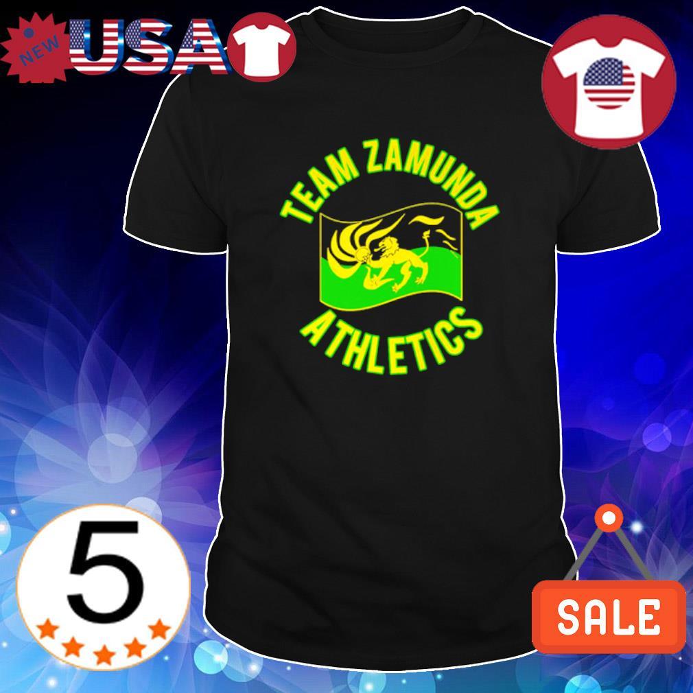 Team zamunda athletics shirt