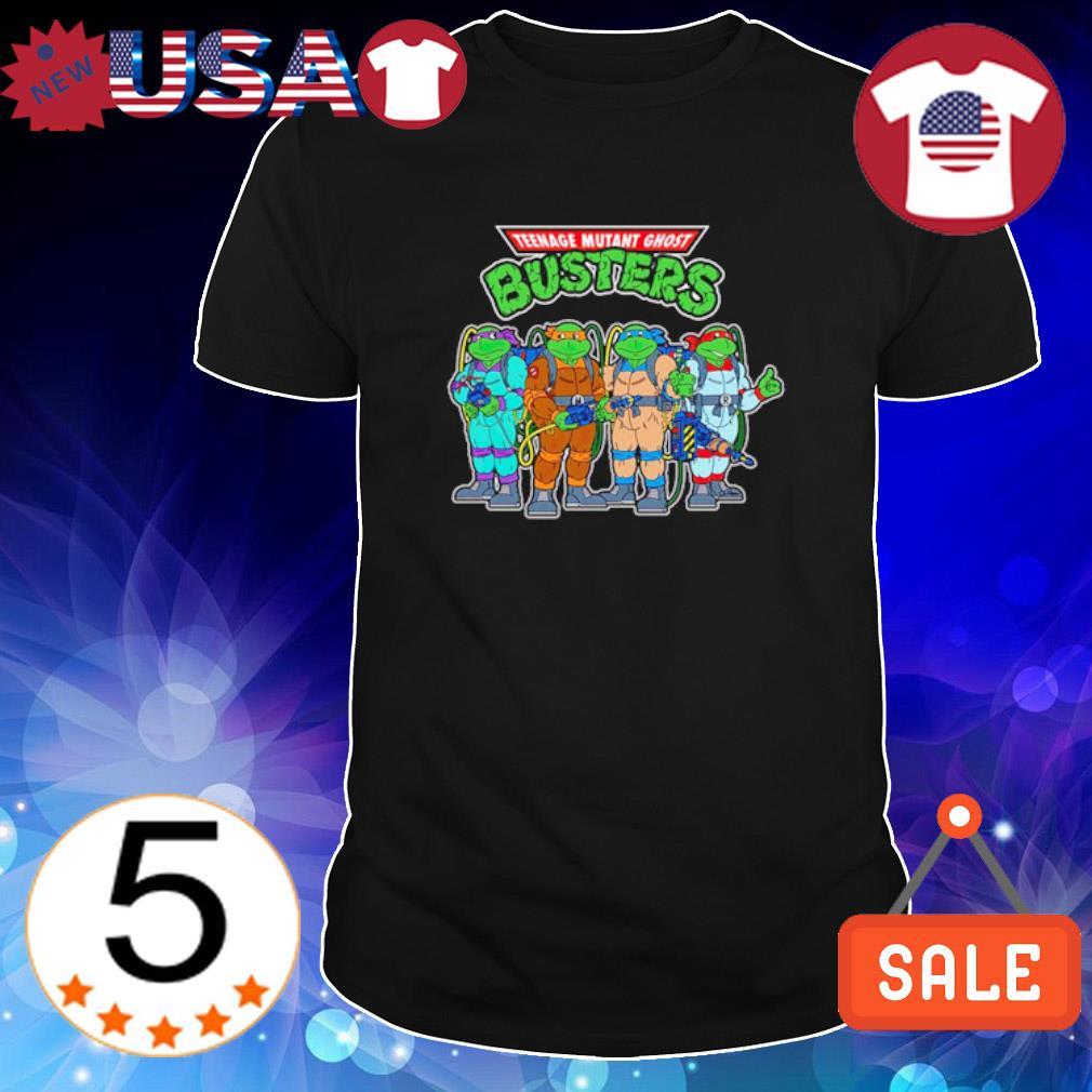 Teenage Mutant Ghost Busters Teenage Mutant Ninja Turtles shirt