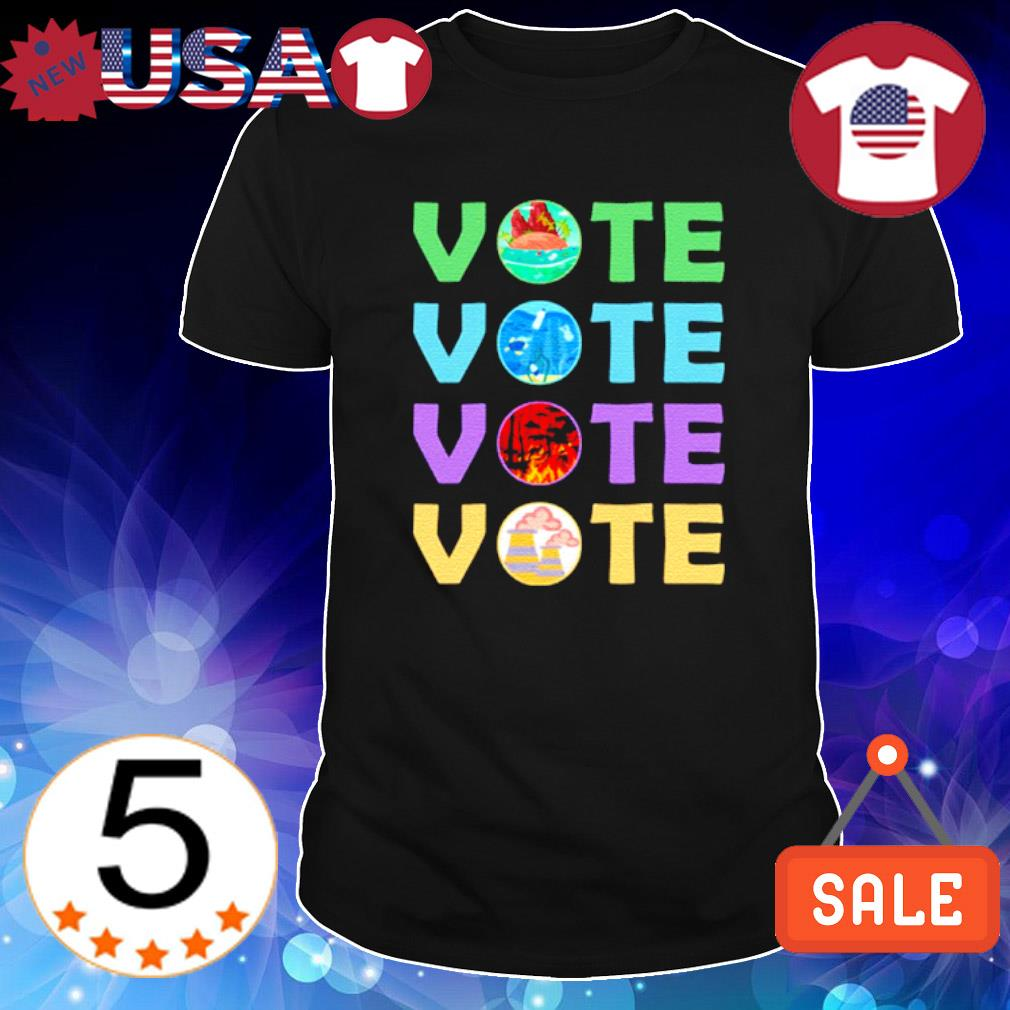Vote for mother earth gobal warming shirt