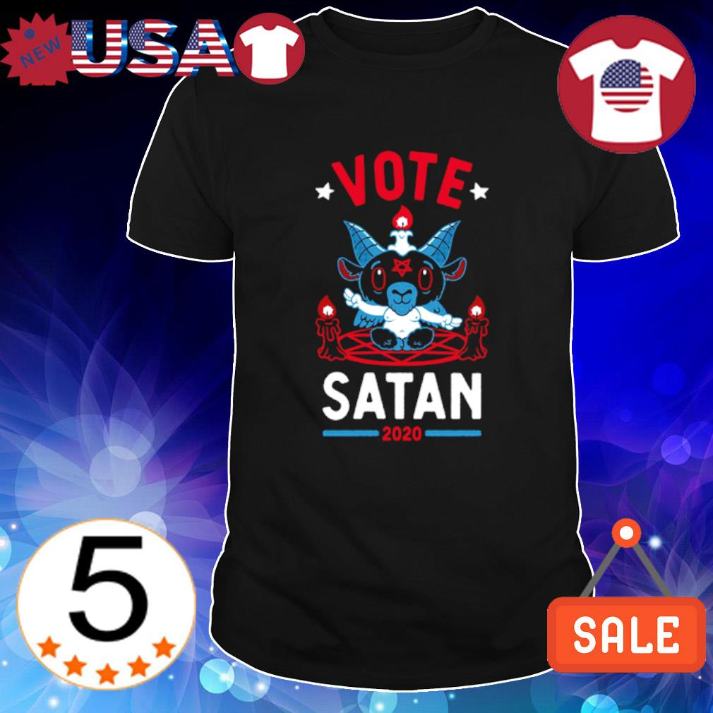 Vote Satan 2020 shirt