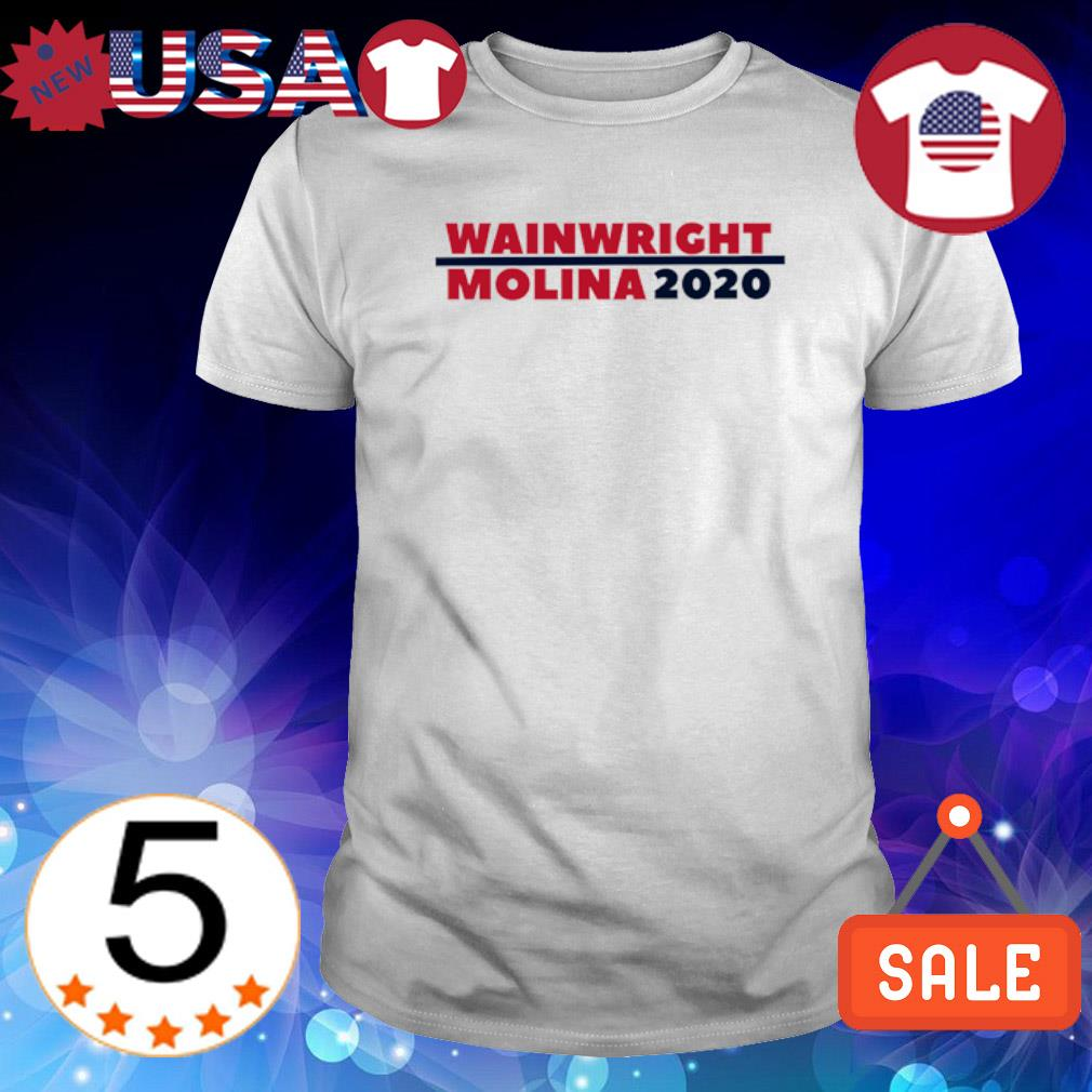 Wainwright Molina 2020 election shirt