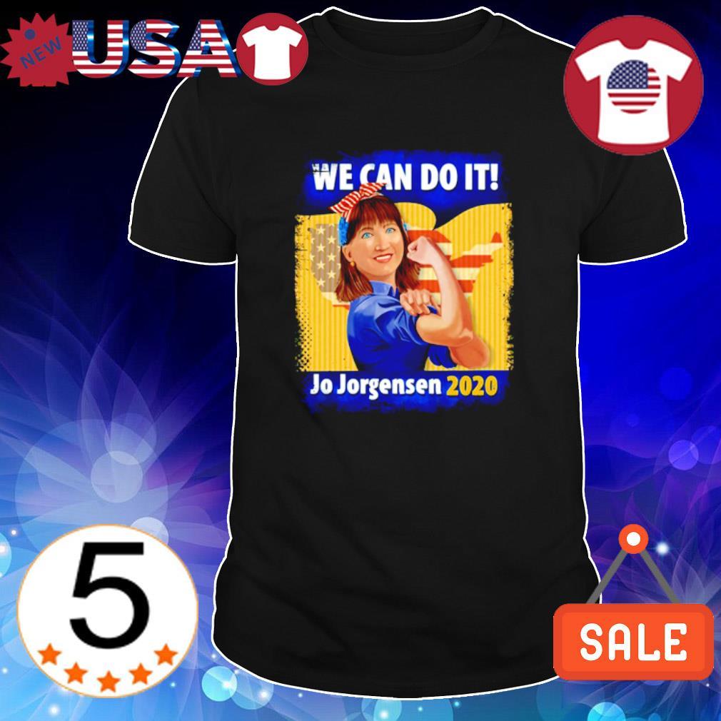 We can do it Jo Jorgensen 2020 shirt