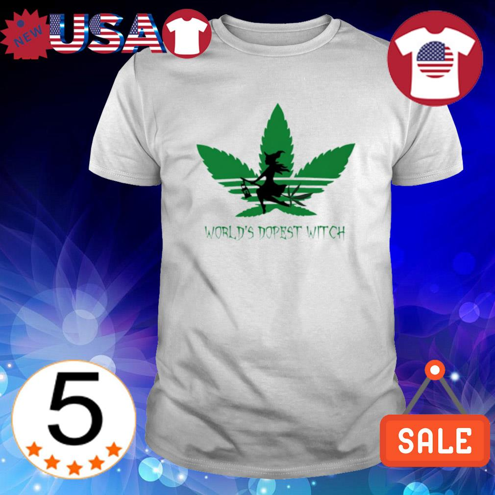 Weed world's dopest Witch shirt
