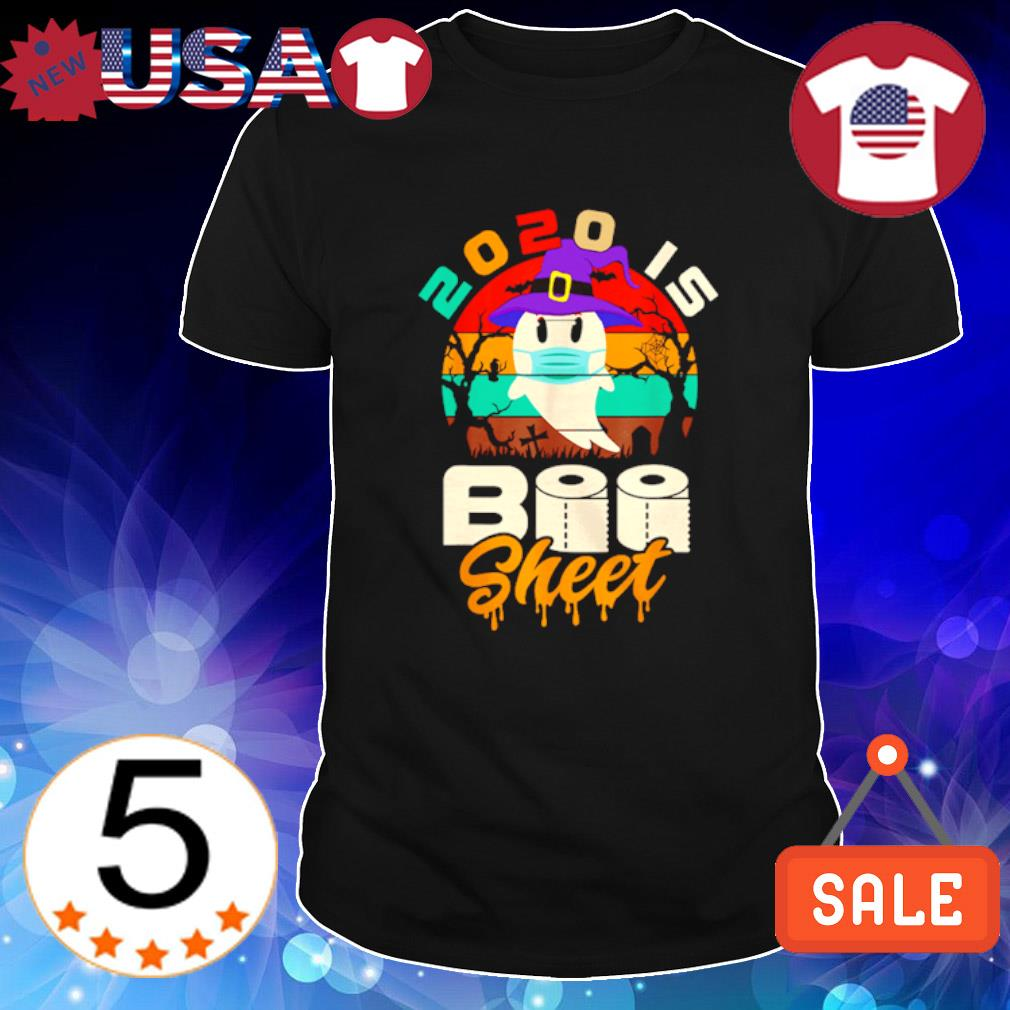 Witch ghost 2020 is boo sheet vintage shirt