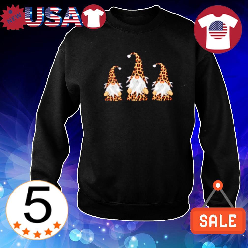 Leopard gnomes s Sweater Black
