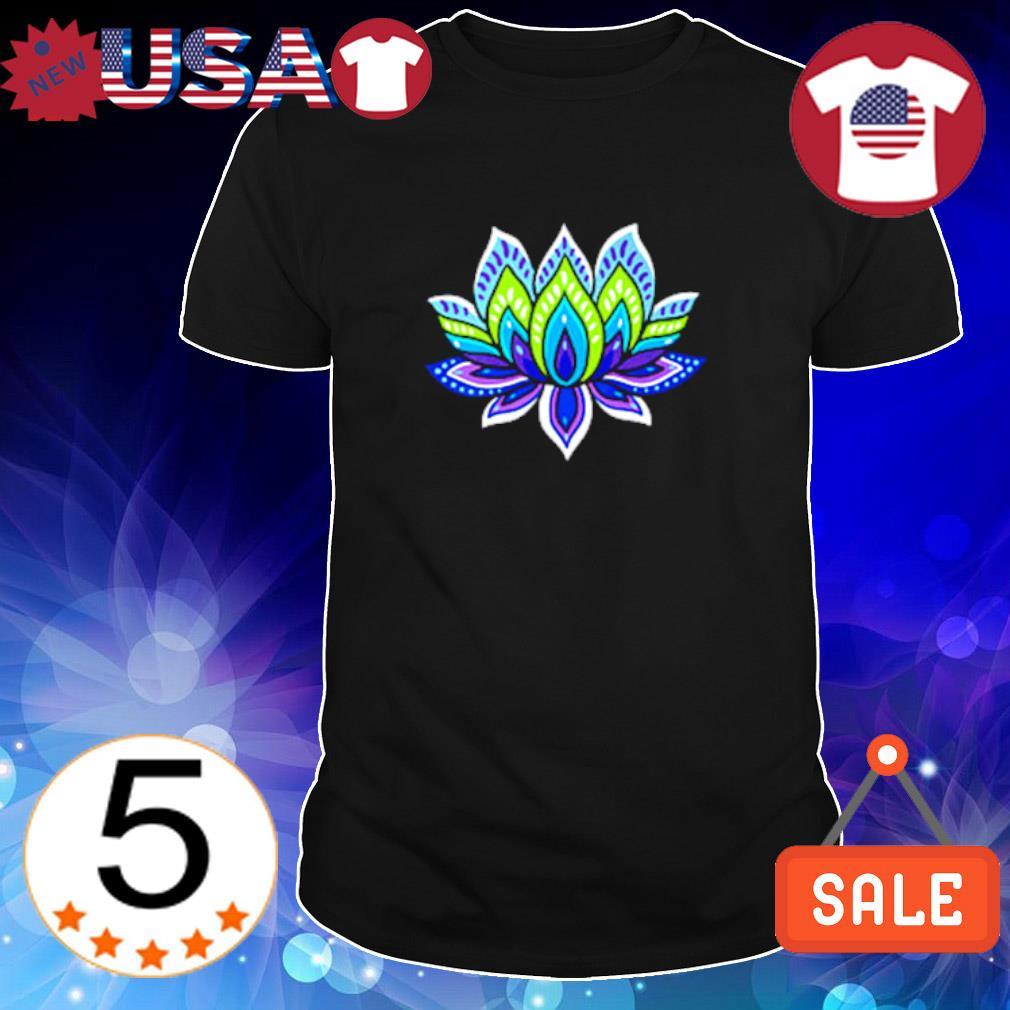 Lotus silk shirt