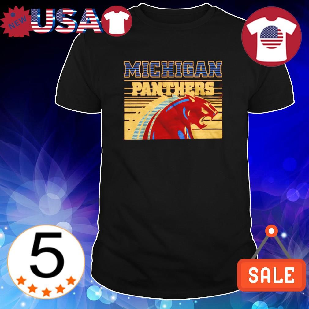 Michigan Panthers logo shirt