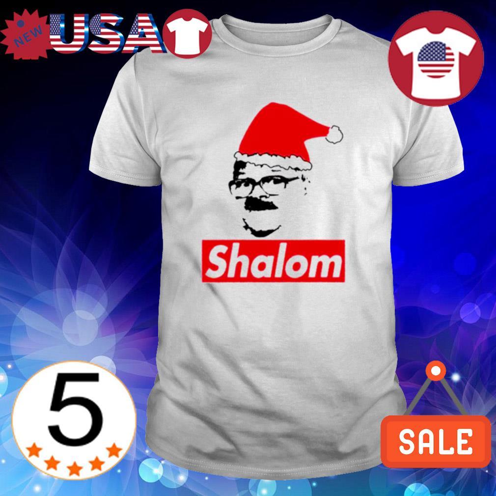 Santa Shalom Jackie Christmas shirt