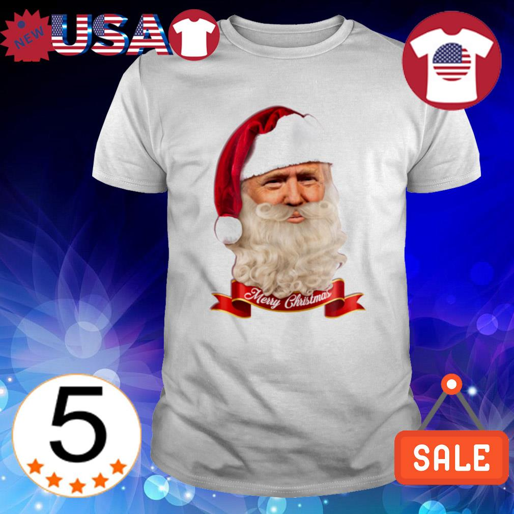 Santa Trump merry Christmas shirt