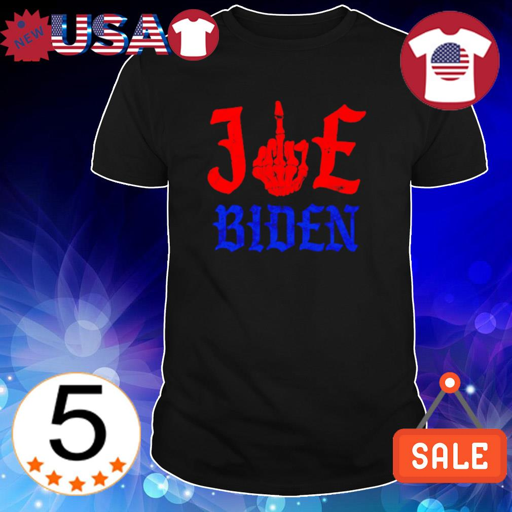 Skeleton fuck Joe Biden shirt