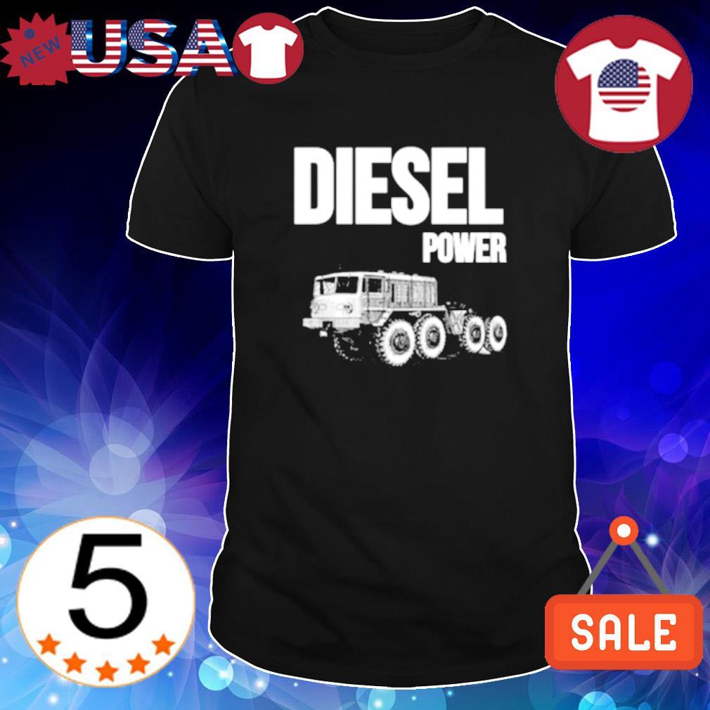 Truck diesel power shirt