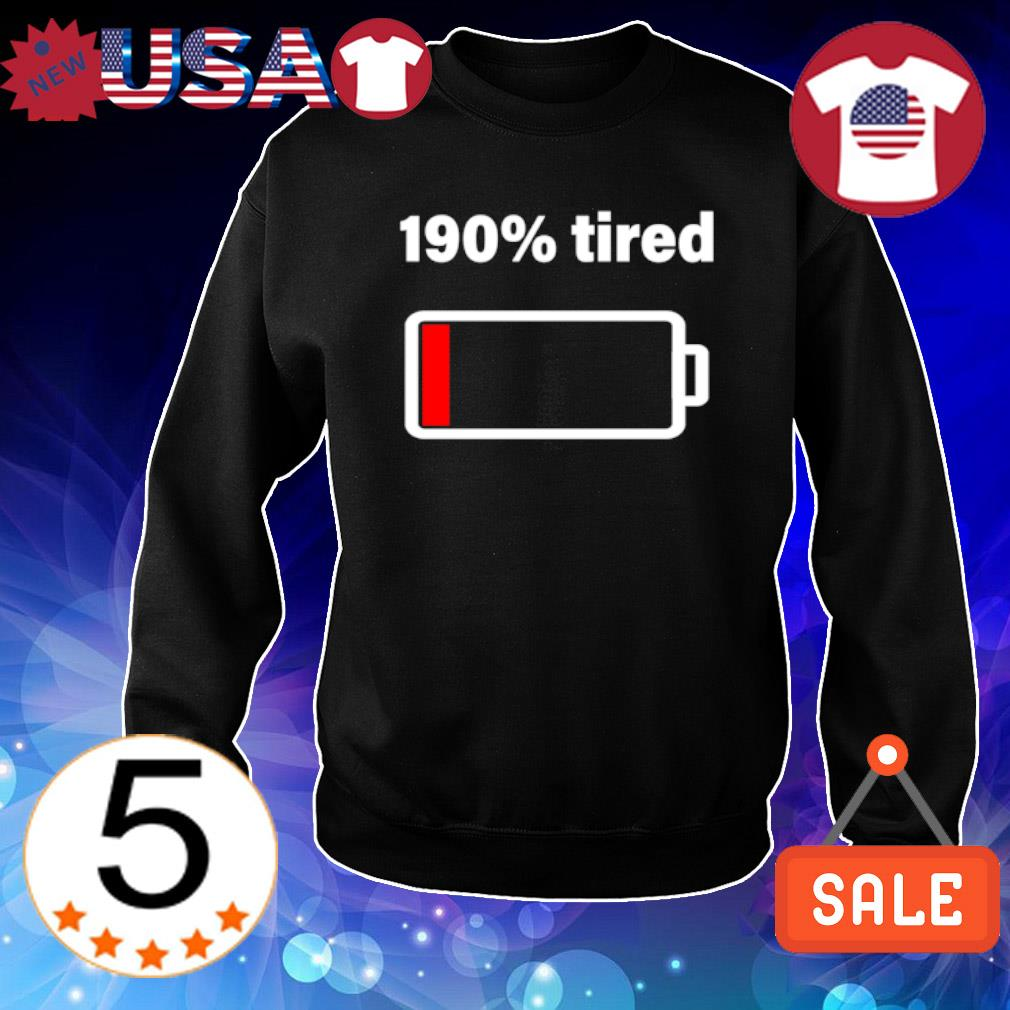 190% tired s Sweater Black