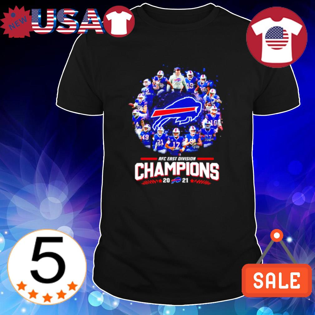 Buffalo Bills AFC east division champions 2021 shirt