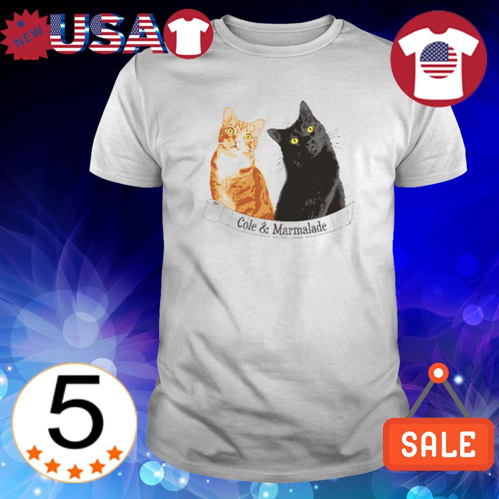 Cole and Marmalade cat shirt