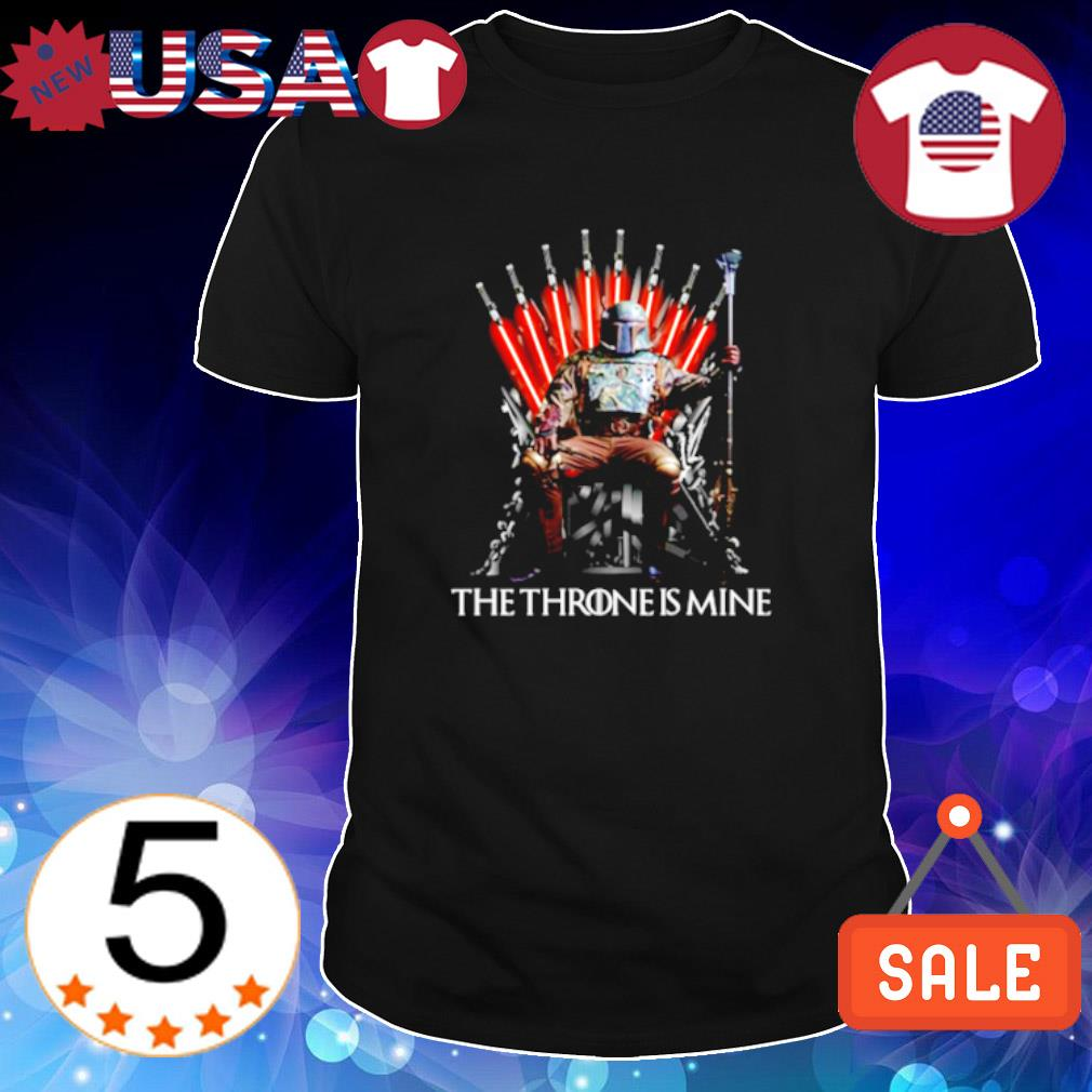 Game of Thrones Boba Fett the throne is mine shirt