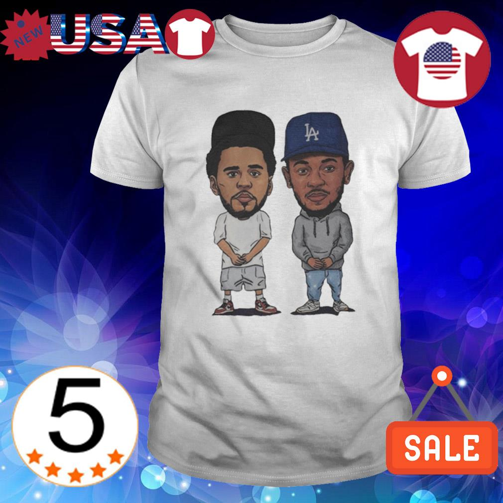 J. Cole and Kendrick Lamar shirt