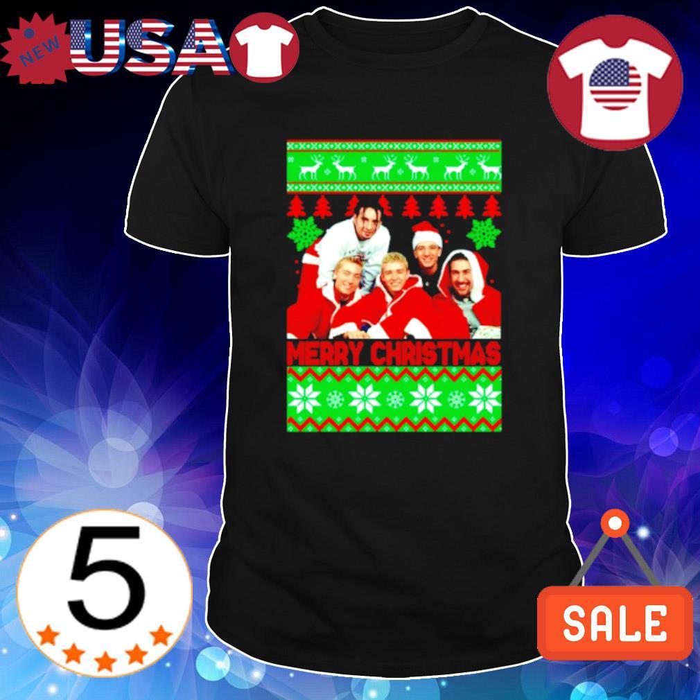 Nsync Merry Christmas shirt