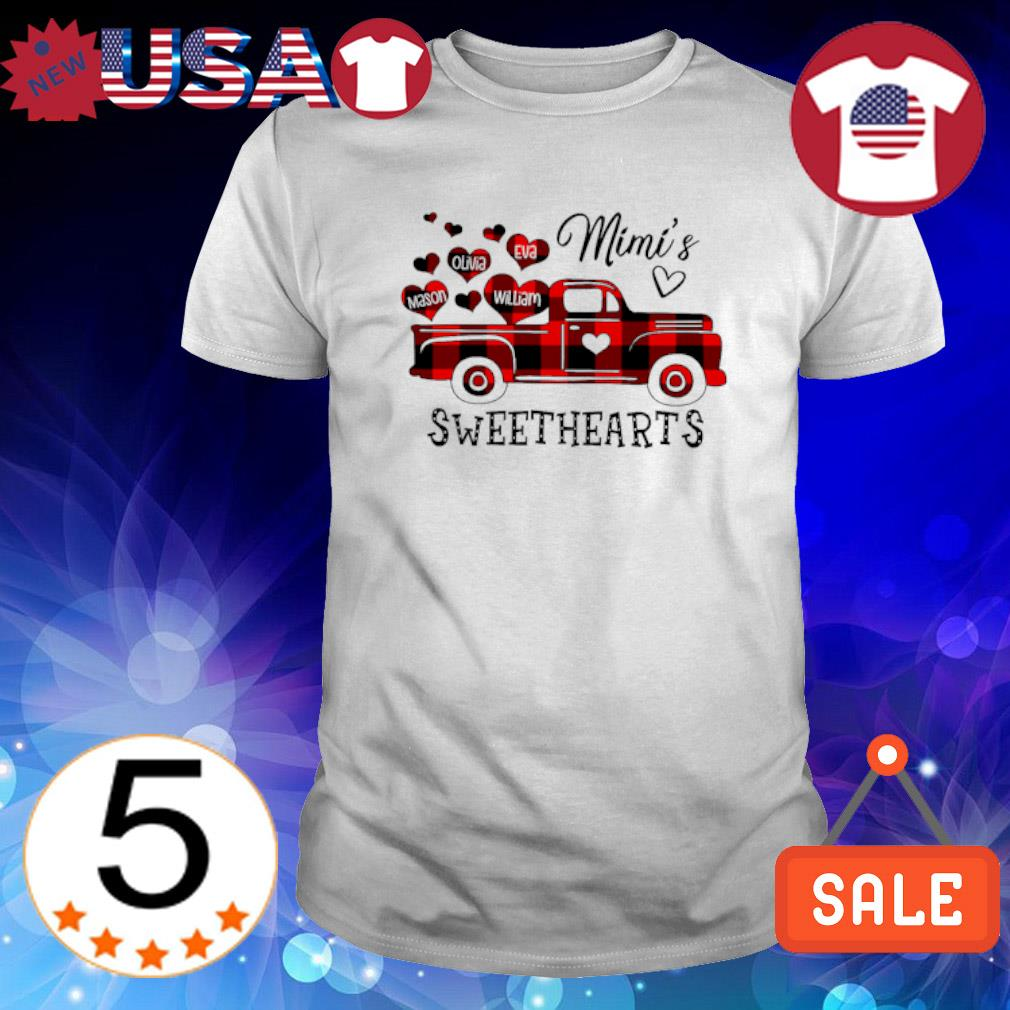Red Truck Nana's sweethearts shirt