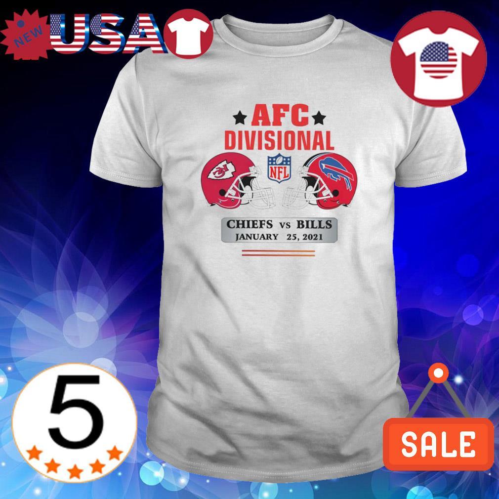 AFC divisional Chiefs vs Bills January 25 2021 shirt