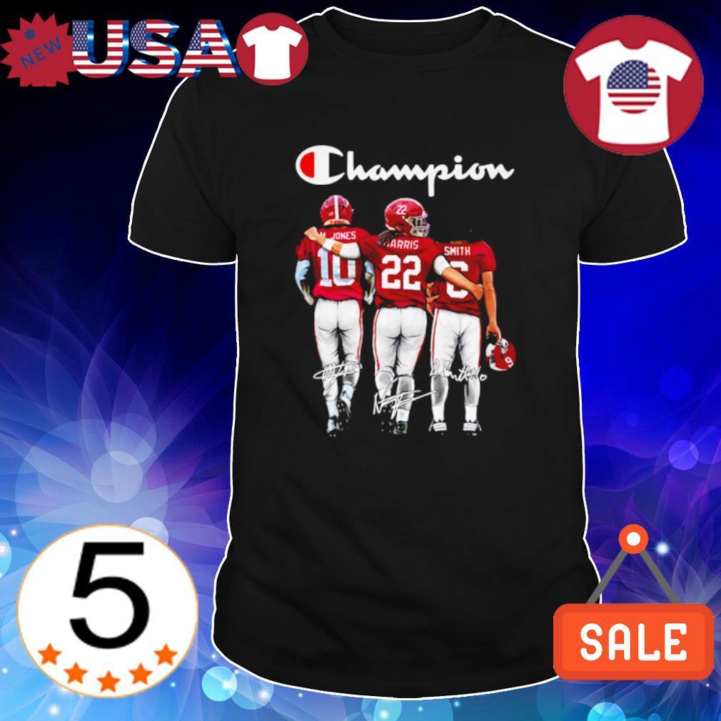 Alabama Crimson Tide champion Jones Harris Smith signature shirt