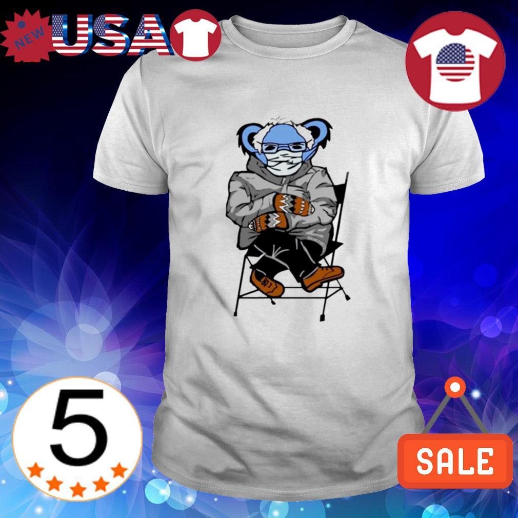 Bernie Sanders mittens Grateful Dead Bear shirt