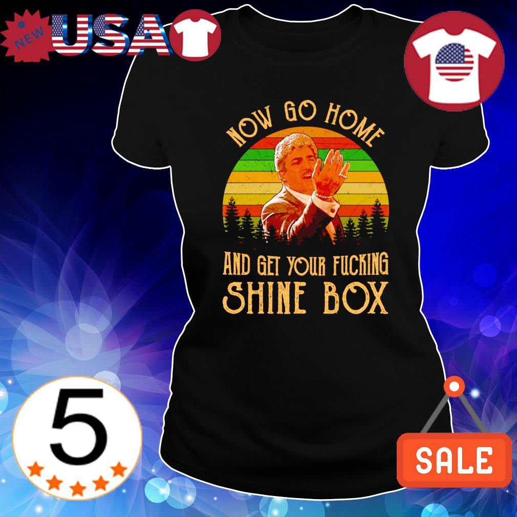 Billy Batts now go home and get your ducking shine box vintage s Ladies Tee-Black