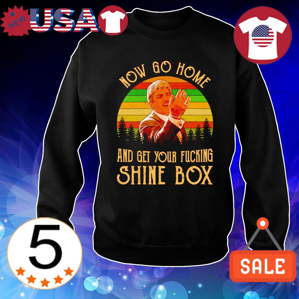 Billy Batts now go home and get your ducking shine box vintage s Sweater Black