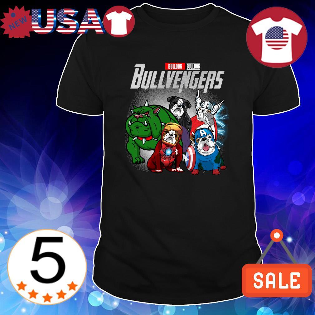 Bulldog Marvel Avengers Bullvengers shirt