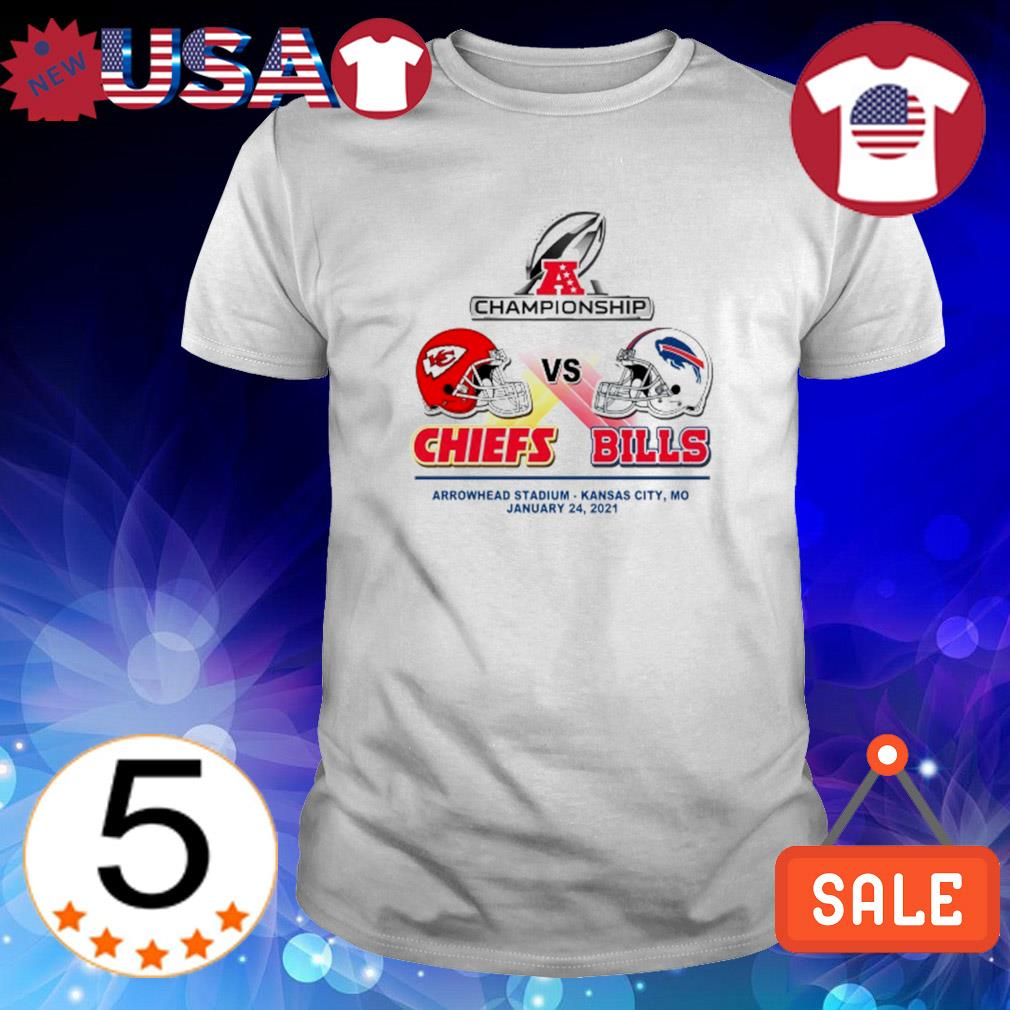 Championship Chiefs vs Bills arrowhead stadium January 24 shirt