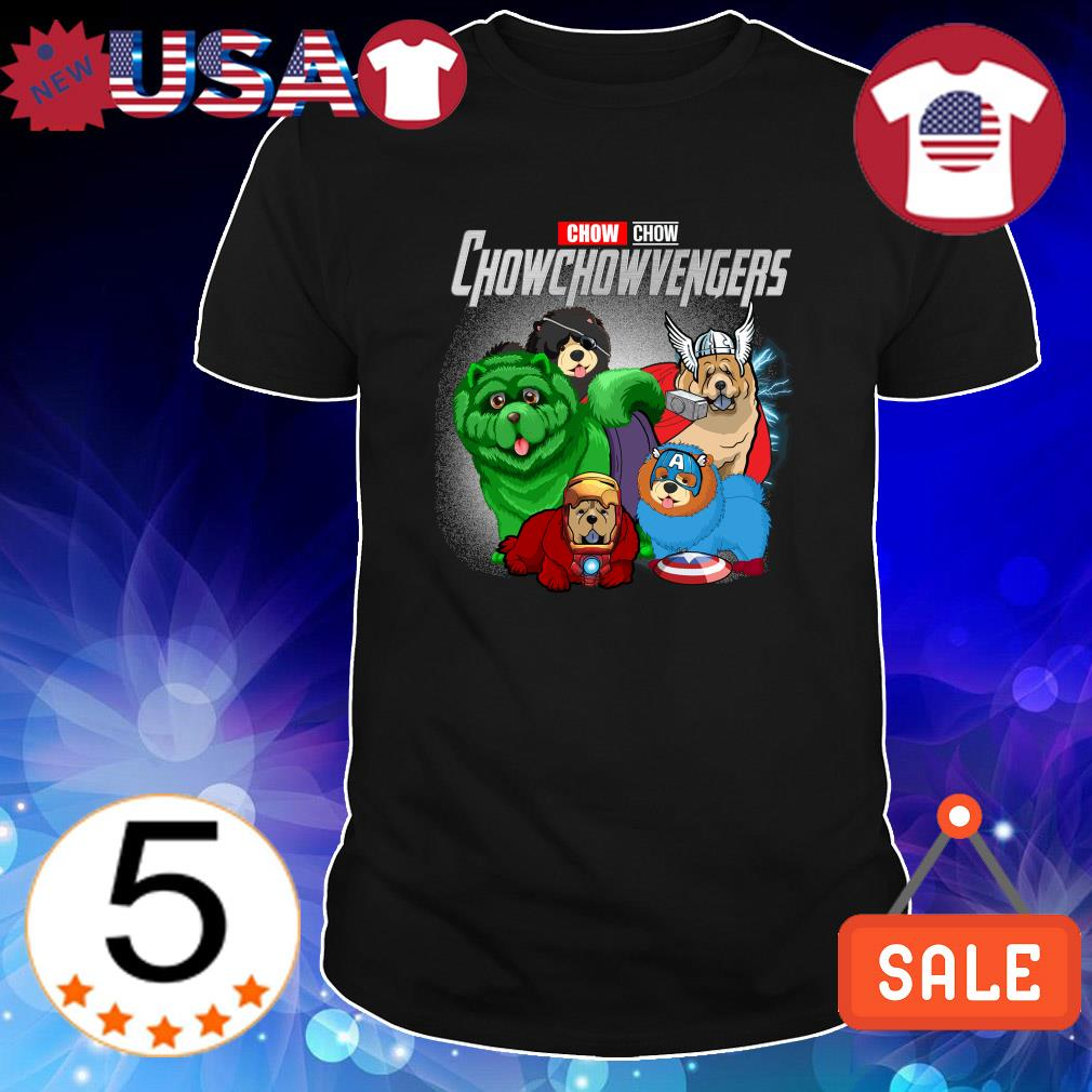 Chow Chow Marvel Avengers Chowchowvengers shirt