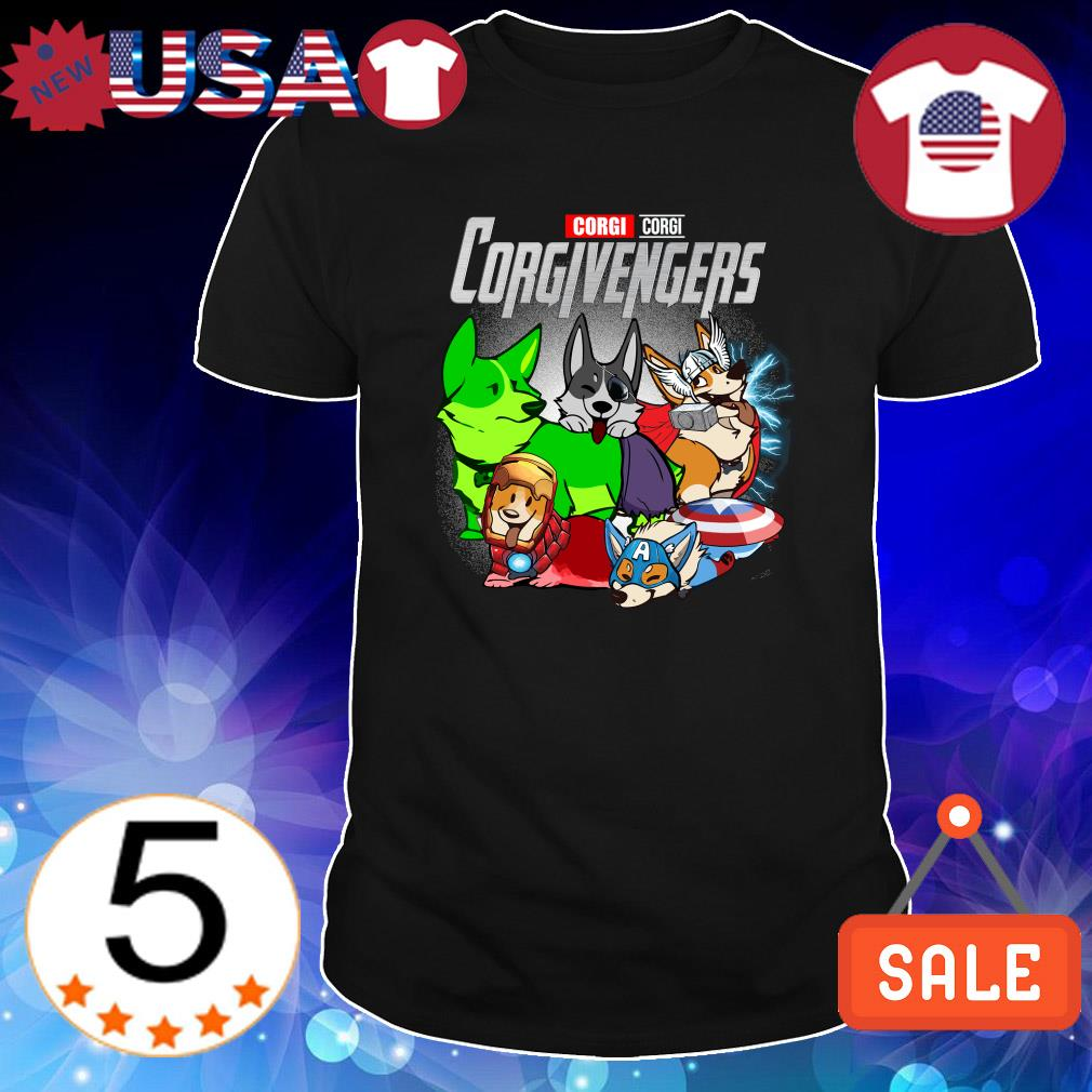 Corgi Marvel Avengers Corgivengers shirt