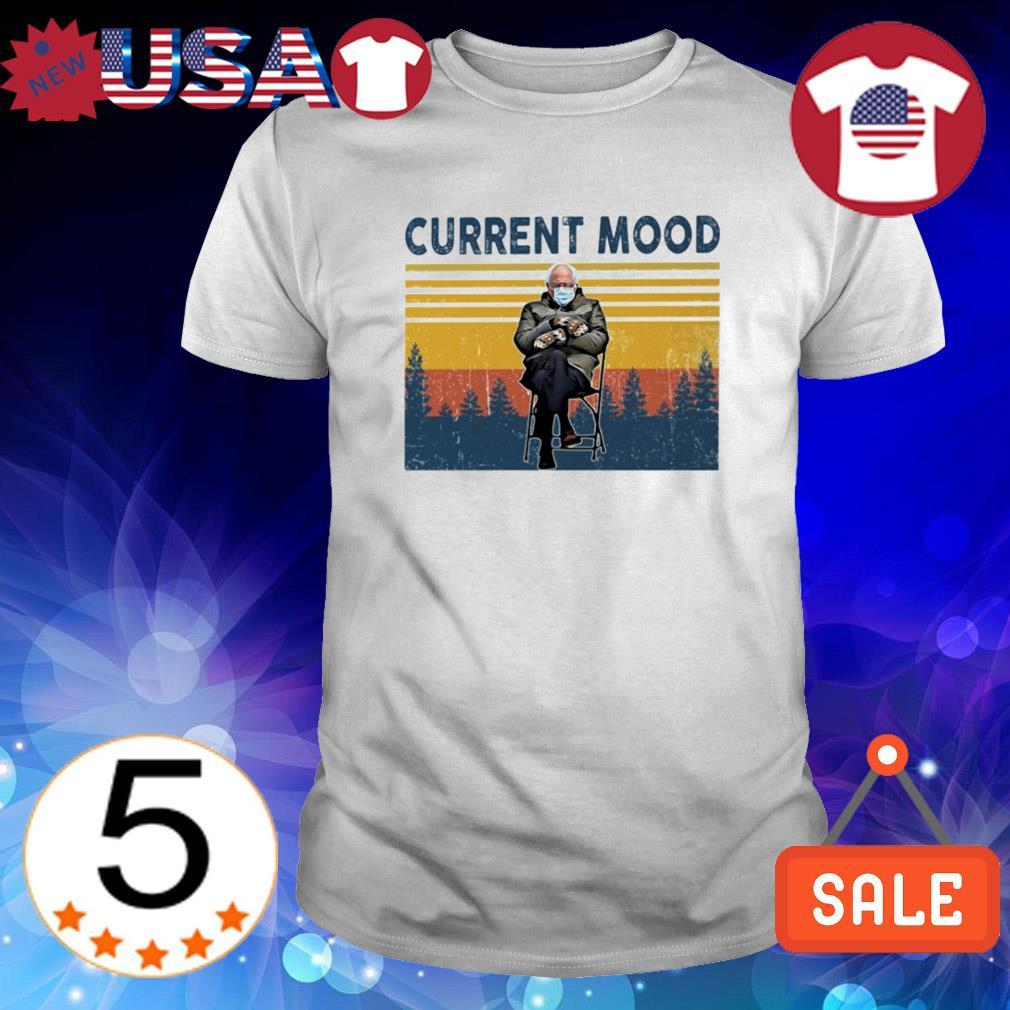 Current mood Bernie Sanders vintage shirt