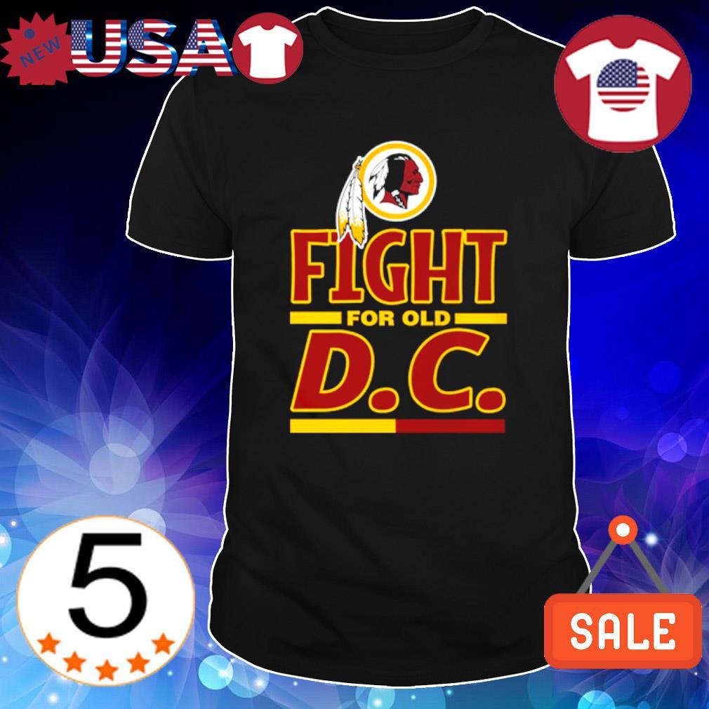 Fight for old DC Washington Redskins shirt