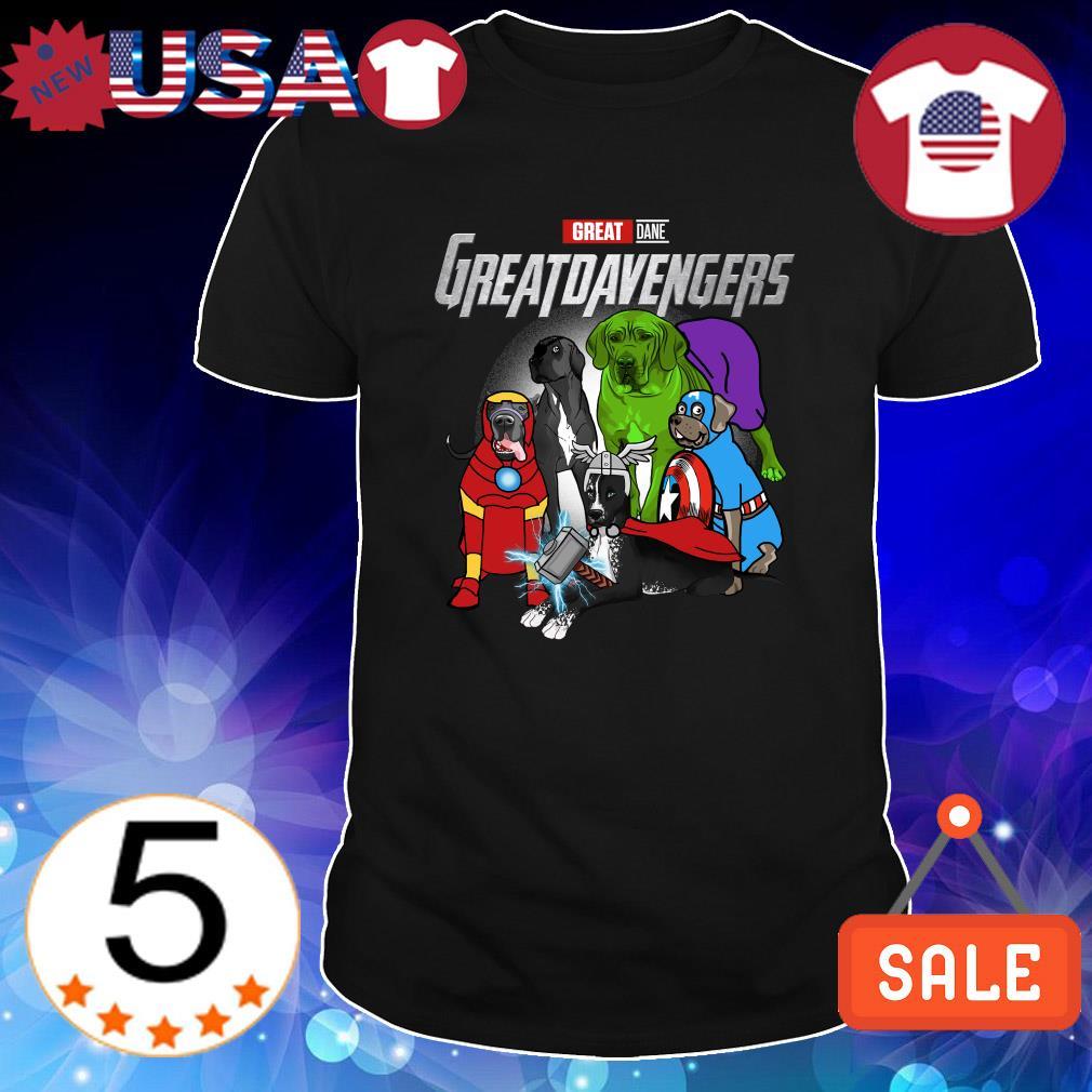 Great Dane Marvel Avengers Greatdavengers shirt