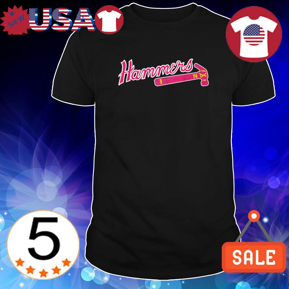 Hank Aaron Hammers thanks for the memories shirt