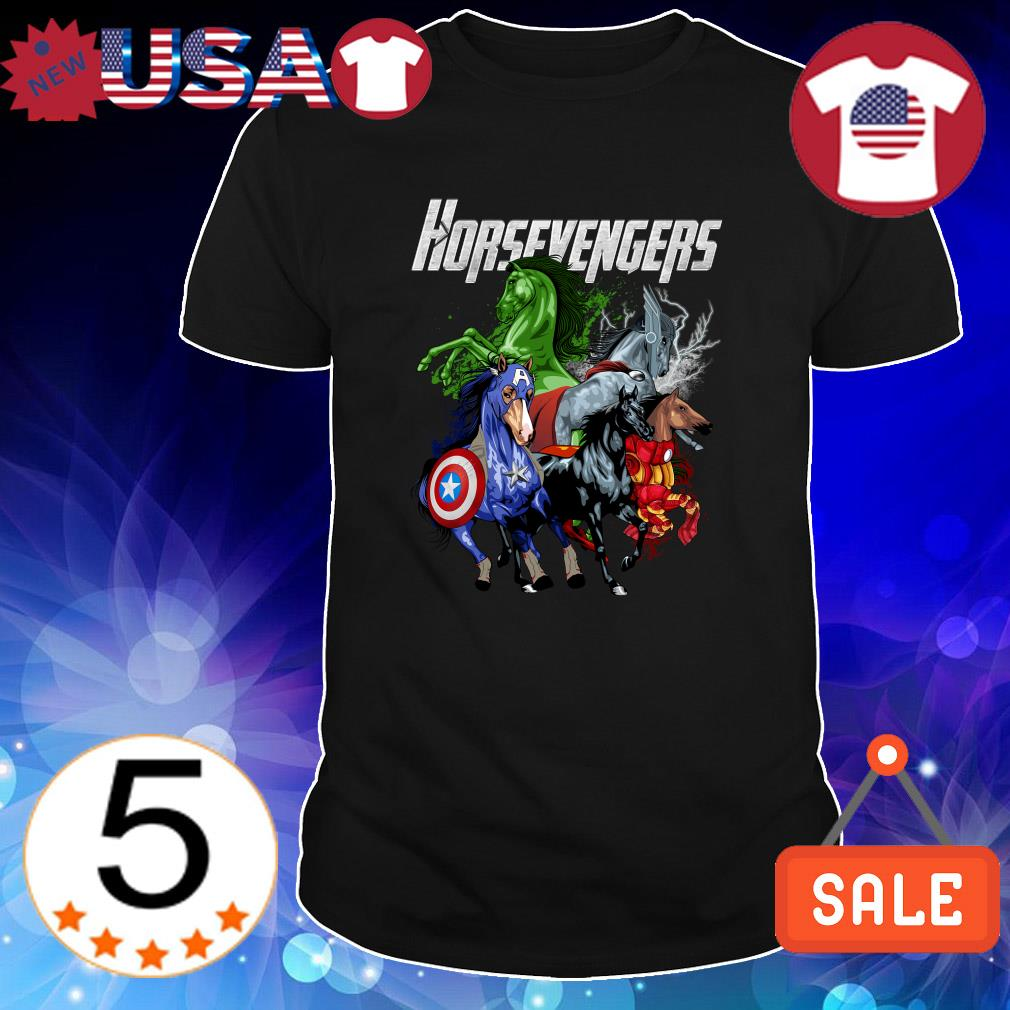 Horse Marvel Avengers Horsevengers shirt