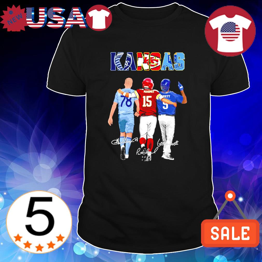 Kansas city best players Collin Mahomes Brett shirt