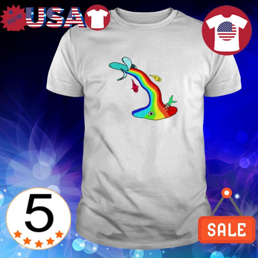 LGBT banana vomit shirt
