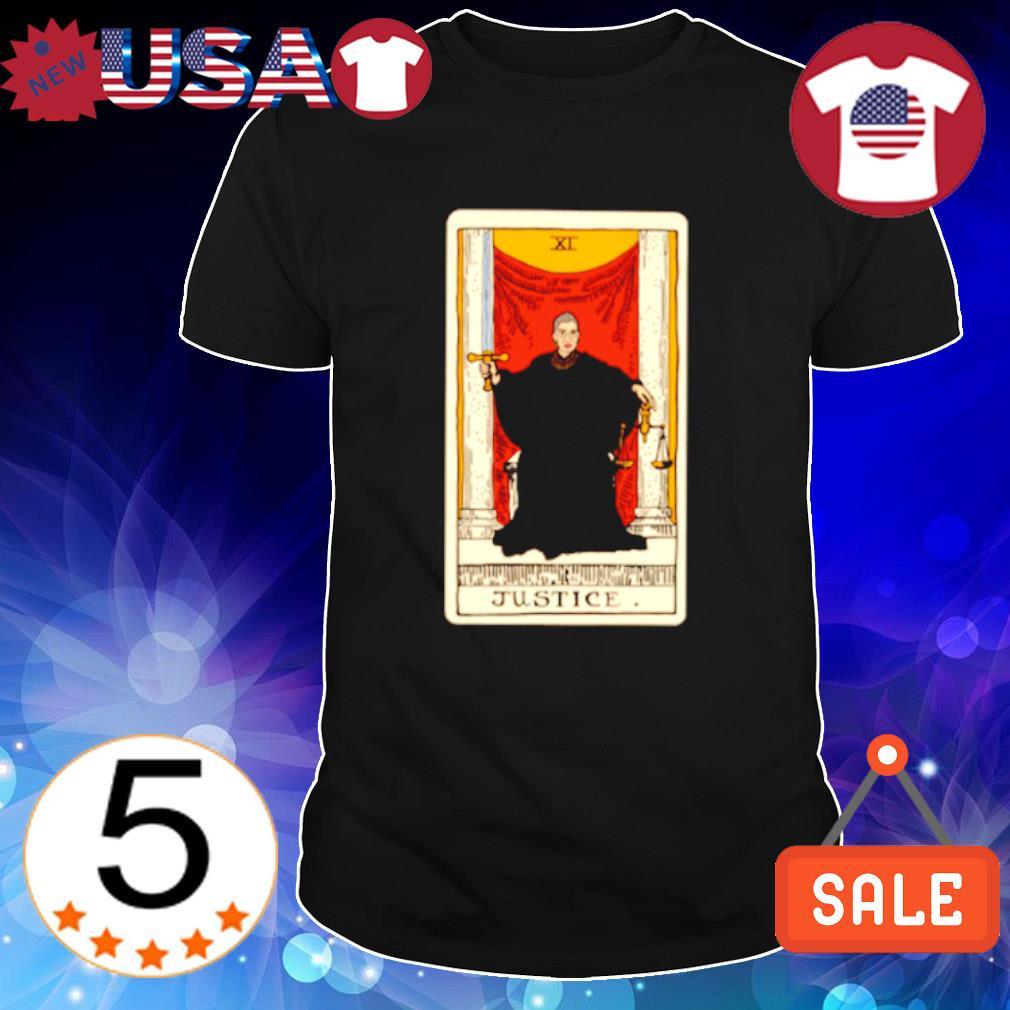 Ruth Bader Ginsburg tarot justice shirt