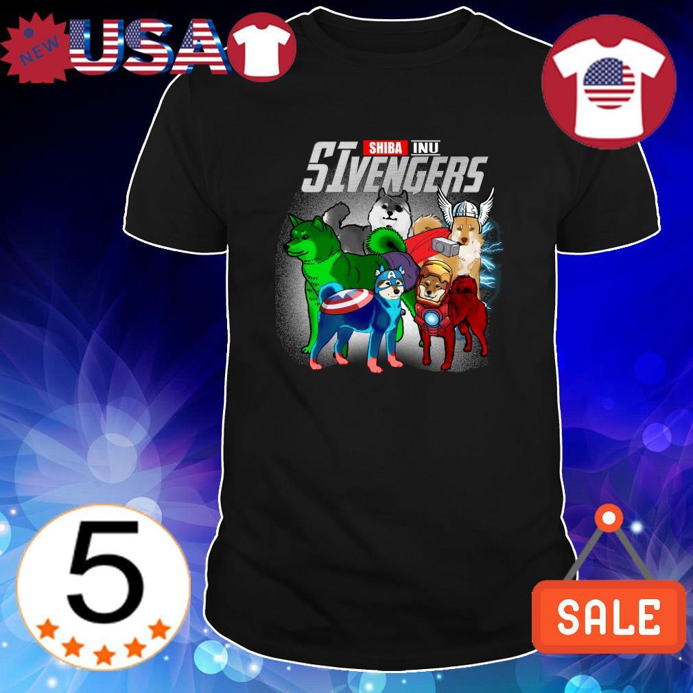 Shiba Inu Marvel Avengers SIvengers shirt
