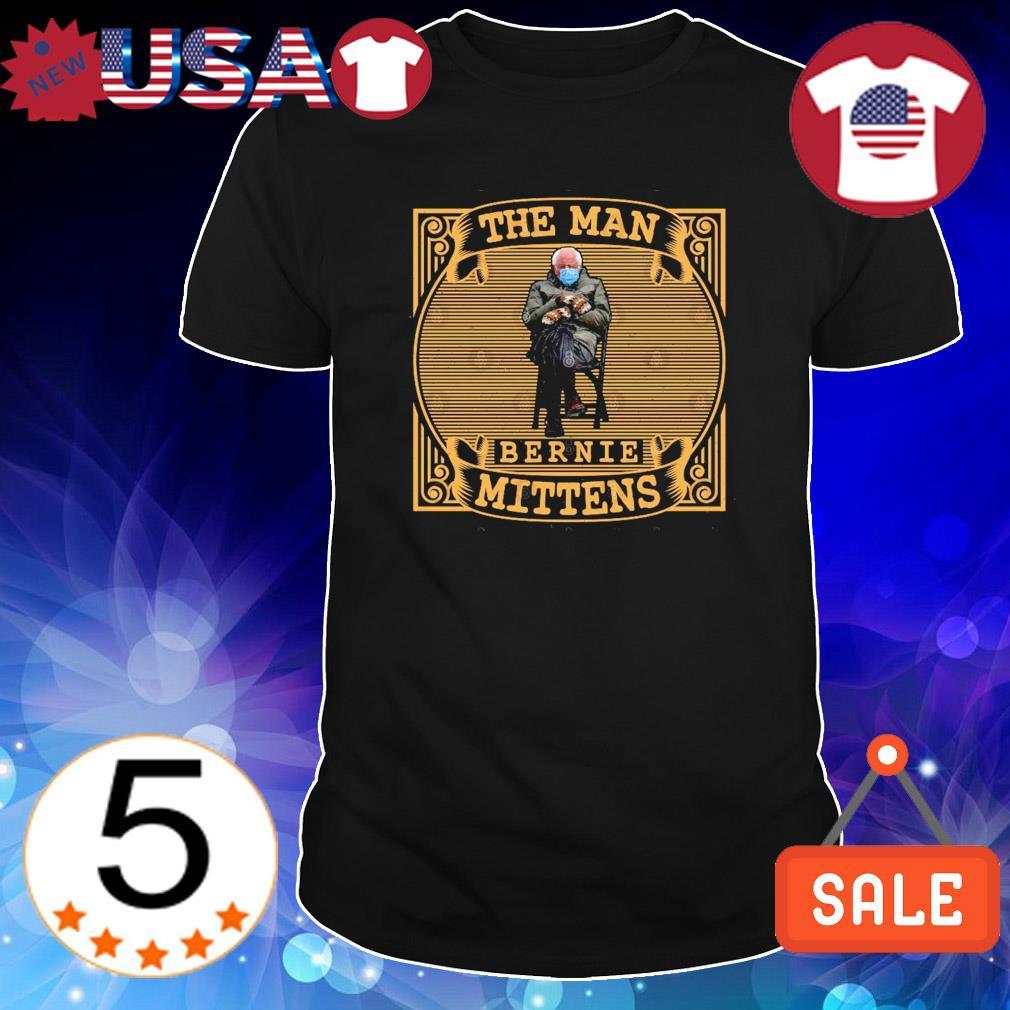 The Man Bernie Sanders Mittens shirt